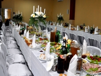 Wedding's banquets in the restaurant SV